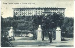 Fiuggi Fonte - Ingresso Al Palazzo Della Fonte - Animata - 1934 - Italia
