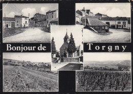 Belgique - Torgny - Bonjour De Torgny - Cachet Lamorteau 1960 - Rouvroy