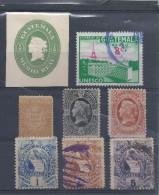Guatémala Lot De 8 Timbres Nfs Et Ob. 1871-75-86 C.30 € - Guatemala