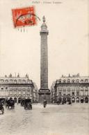 CPA PARIS - COLONNE VENDOME - France