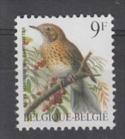 TIMBRE NEUF DE BELGIQUE - OISEAU DE BUZIN : GRIVE MUSICIENNE N° Y&T 2426 - Passereaux