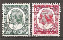 DR 1934 // Michel 554/555 O (4183) - Deutschland