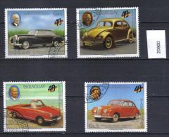 Paraguay, Mi, 4352 - 4356, Cars - Paraguay