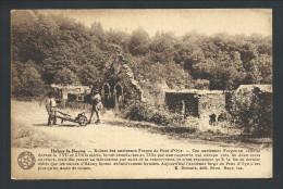 CPA - HABAY LA NEUVE - Ruines Des Anciennes Forges Du Pont D'Oye - Desaix  // - Habay