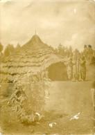 Photo Carte Congo Colonie Belge Timbre Cachet Mongbwalu Barbades Jamaica Richmond Hutte Ituri - Photos