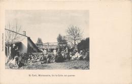 ALGERIE - M. COOK, Missionnaire, Fait Le Culte Aux Pauvres - Zonder Classificatie
