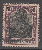 Deutsches Reich -  Mi. 91 (o) - Usati