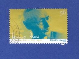 2002  N° 2098  HERMANN HESSE ECRIVAIN  OBLITERE 2  SCANNE - [7] Federal Republic