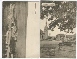 ROMAGNE SOUS LES CÔTES 2 Cpa Allemandes Du Village Grande Guerre Env. 1916 - Frankreich