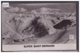 LES PISTES DU SUPER SAINT BERNARD - TB - VS Valais