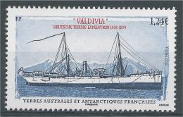 "French Antarctic (FSAT), Ship ""Valdivia"", 2016, MNH VF - Unused Stamps"