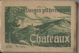 CPA - CARNET De 20 VUES  - LES VOSGES PITTORESQUES - CHATEAUX - Edition C.A.P. - Non Classés