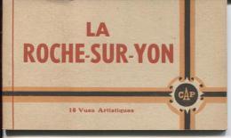 CPA - LA ROCHE S/YON - CARNET De 10 VUES - Edition C.A.P. (vues Animées) - La Roche Sur Yon