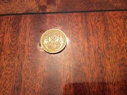 Pièce * Bronze 2 FRANCS MORLON 1938 - I. 2 Francs