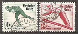 Michel 600,601 O - Deutschland