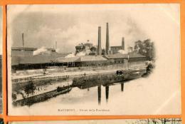 MBW-09 Hautmont  Usines De La Providence. Précurseur. Cachet 1904 - Andere Gemeenten