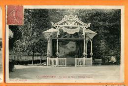 MBW-21  Charbonnières-les-Bains, Lyon  Un Coin Du Parc, Théâtre Guignol. Cachet Frontal 1906 - Charbonniere Les Bains