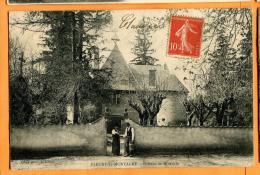 MBW-23  Fleury-la-Montagne  Château De Dinechin, ANIME. Cachet Frontal - Otros Municipios