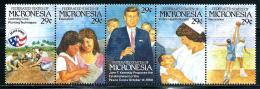 "Micronesia      ""Peace Corps""       Strip Of 5       SC#  150     MNH** - Micronesia"