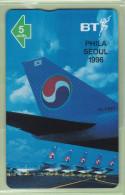 UK - BT General - 1996 Korean Air - 5u Boeing 747 - BTG745 - Mint - Flugzeuge