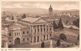 "03998 ""18 KWAZULU-NATAL - PIETERMARITZBURG - SOUTH AFRICA"" MONUMENTO NAZIONALE-STATUA REGINA VITTORIA. CART. NON SPED. - Sud Africa"
