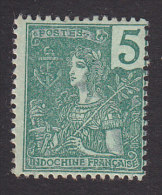 Indo China , Scott #27, Mint Hinged, France, Issued 1904 - Indocina (1889-1945)