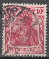 Deutsches Reich -  Mi. 86 (o) - Usati