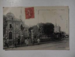 Dep 92 Environs Du Havre Sanvic  La Mairie ( Animée Personnages Et  Homme Sur Vélo ) - Autres Communes