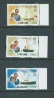Kiribati 1981 Charles & Di Royal Wedding Part Set 3 Specimen Overprints MNH - Kiribati (1979-...)