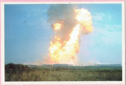 Carte 137 - L'explosion D'une Conduite De Gaz à Ghislenghien,le 30 Juillet 2004,fera 24 Morts Et 131 Blessés;ouvriers,po - Otros