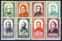 Francia 1948 Serie N. 795-802 Centenario Della Rivoluzione Del 1848 MNH GO Catalogo € 23 - Ungebraucht
