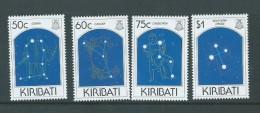 Kiribati 1995 Night Sky / Constellations Set 4 MNH , Small Gum Faults - Kiribati (1979-...)