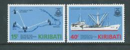 Kiribati 1985 Sea Transport & Ship Set 2 MNH - Kiribati (1979-...)