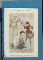 Chromos Bon Point  La Morale De Pierrot Par Geoffroy Publications Artistiques   Phosphatines  Fallières  Mars 2016 265 - Diplome Und Schulzeugnisse