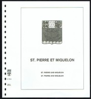LINDNER-T Hingeless Sheets St Pierre-et-Miquelon  1952-1994 New In Original Packaging - Shipped From Canada - Albums & Bindwerk