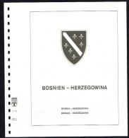 LINDNER-T Hingeless Sheets Bosnia-Herzegovina 1993-8 New In Original Packaging - Shipped From Canada - Albums & Reliures