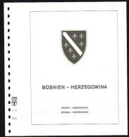LINDNER-T Hingeless Sheets Bosnia-Herzegovina 1993-8 New In Original Packaging - Shipped From Canada - Albums & Bindwerk