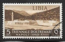 Libya, Scott # 88 Used Modern City, 1940 - Libya