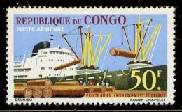Congo Scott C6 (Changement De Bois) [**] - Republic Of Congo (1960-64)