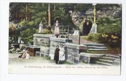 CPA 67 - MONT SAINTE ODILE - St. ODILIENBERG , St. ODILIENQUELLE - Source De Ste. Odile - SUPERBE ANIMATION - Francia
