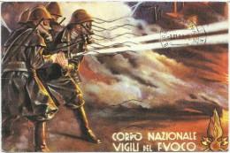 Corpo Nazionale Vigili Del Fuoco - 50° Anniversario - Pompieri