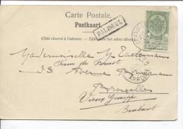 TP 56 S/CP Dohan Le Loulin C.Ambt Bruxelles-Arlon 2 22/09/04 + Gff Encadrée Paliseul V.BXL PR1371 - Postmark Collection