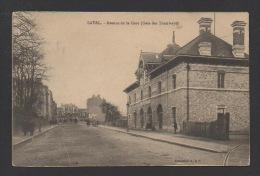 DF / 53 MAYENNE / LAVAL / AVENUE DE LA GARE (GARE DES TRAMWAYS) / CIRCULÉE EN 1913 - Laval