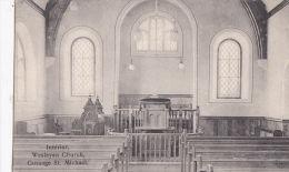 GUSSAGE  ST MICHAEL - WESLEYAN CHURCH INTERIOR - England