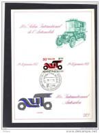 1568 SUR FEUILLET SOUVENIR 1971 50me SALON INTERNATIONAL DE L´ AUTOMOBILE. (JNF45) - Belgique