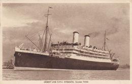 SHIPPING - R.M.S. OTRANTO. ORIENT LINE - Steamers