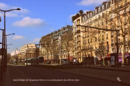 PARIS XV- Boulevard Victor Pris Du Boulevard De La Porte D´Issy (EDITION à TIRAGE LIMITE) - Arrondissement: 15