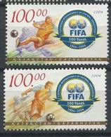 102 KAZAKHSTAN 2004 - FIFA Football Logo Joueur - Neuf Sans Charniere (Yvert 404/05) - Kazakhstan