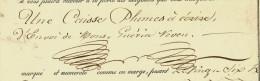 LETTRE DE VOITURE ROULAGE TRANSPORTS  Grd Format MAZIER VERVIER NANTES  1822 Pour DUROZAD LYON B.E.V.SCANS+ HISTORIQUE - 1800 – 1899