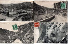 ENTRAYGUES - 4 CPA - Le Rocher Du Duc (2) Le Pont Et La Chaussée - Vue Générale -    (85351) - France